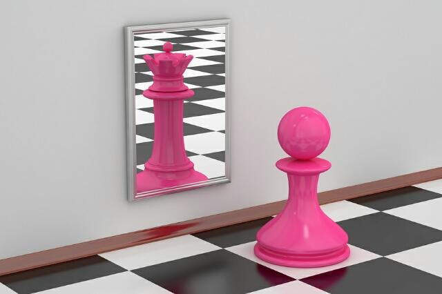 Pawn in Mirror