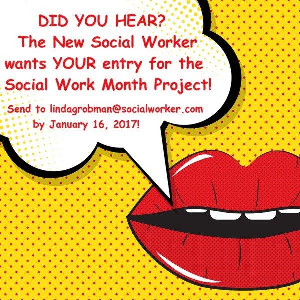 Social Work Month 2017