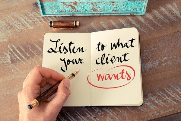Listen to Client