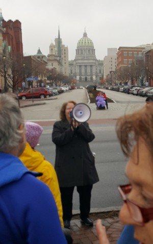 Linda Grobman at March