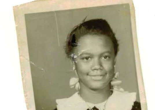 Amerah Shabazz Bridges as a child