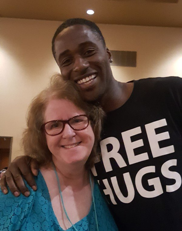 Linda Grobman and Ken Nwadike
