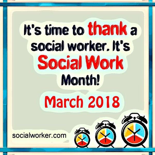 Thank a Social Worker 2018