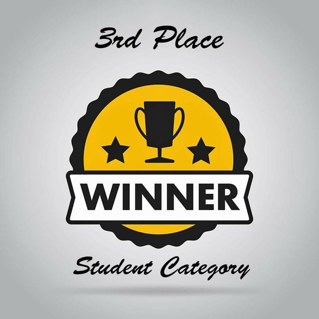 Third Place Student