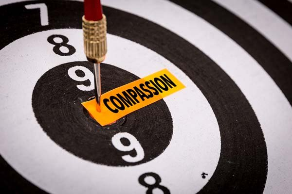 Compassion Dartboard