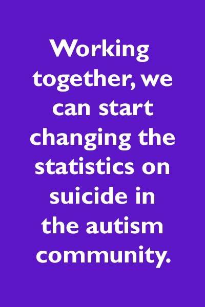 Autism suicide statistics