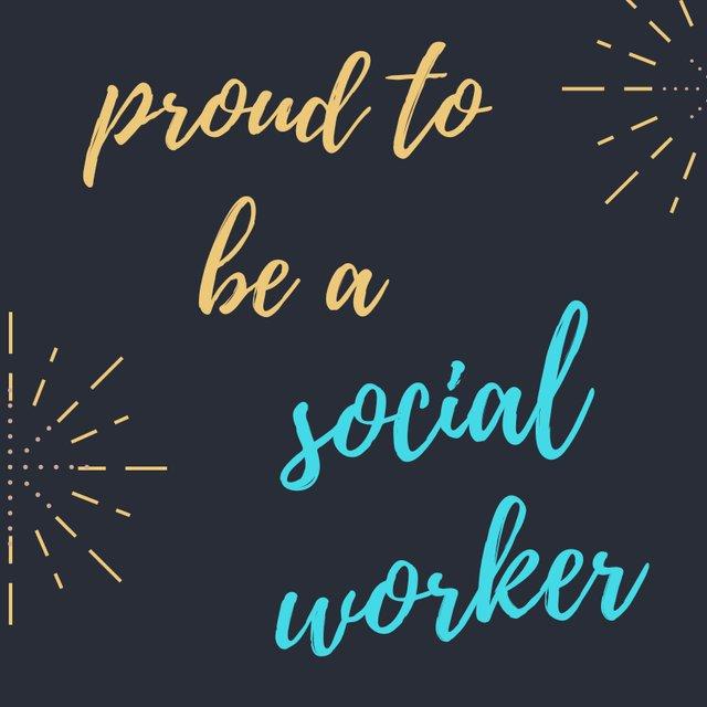 Proud Social Worker