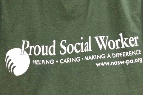 Proud Social Worker T-shirt