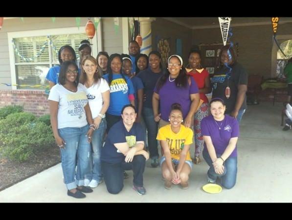 Southern Arkansas University Social Work Students