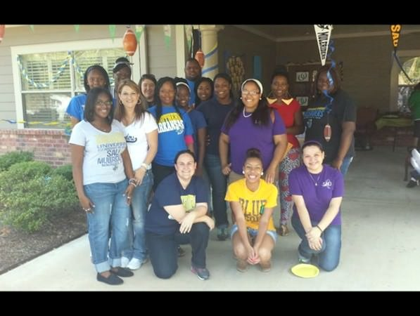 Southern Arkansas University Social Work Students