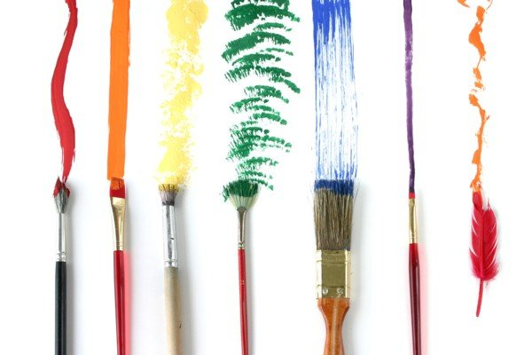 Different strokes art photo therapy promote healing for Different types of paint for art