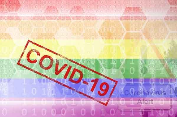 LGBT Flag Coronavirus
