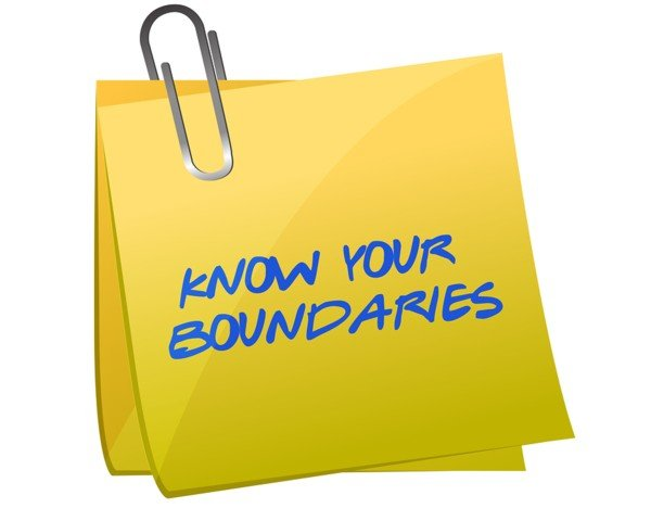 Manage boundaries with online dating