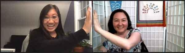 Nicole Wong and Matthea Marquart