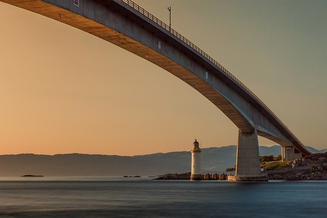 Bridge and Lighthouse