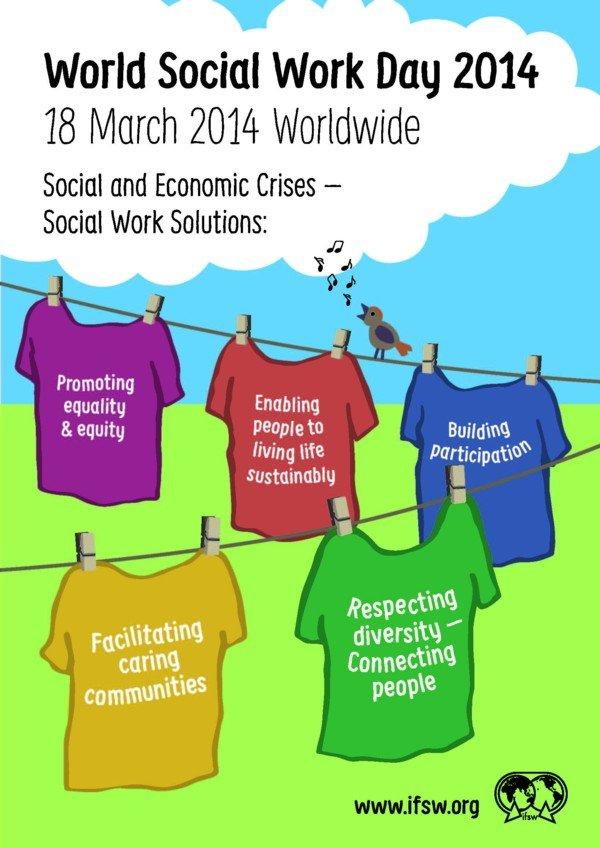 World Social Work Day 2014 Poster
