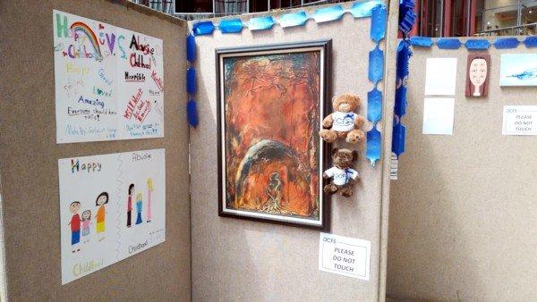 Chicago DCFS Art Exhibit