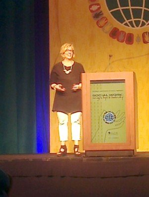 Brene Brown at 2014 NASW Conference