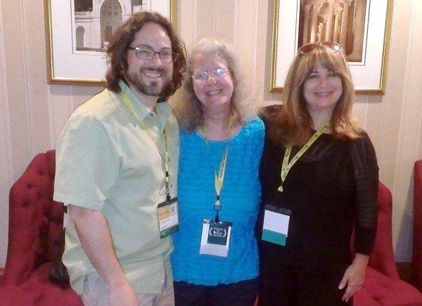 Jonathan Singer, Linda Grobman, & Susan Mankita at 2014 NASW Conference