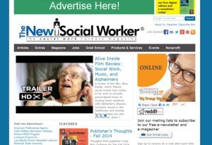 SocialWorker.com Screenshot