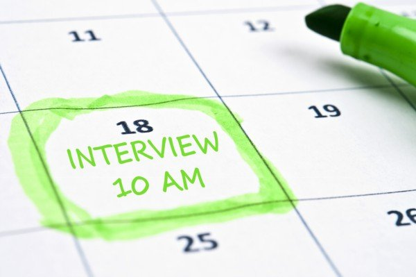 Interview calendar