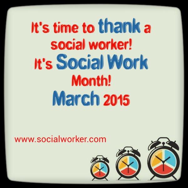 Thank a social worker 2015