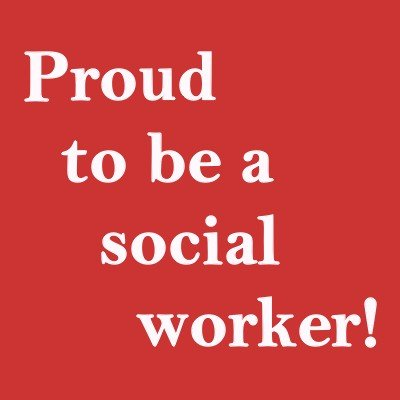 Proud to be a social worker