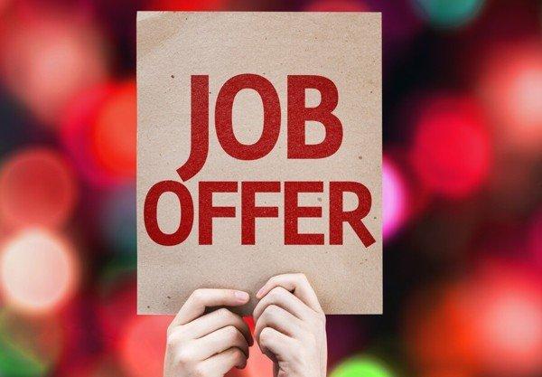 Job Offer Sign
