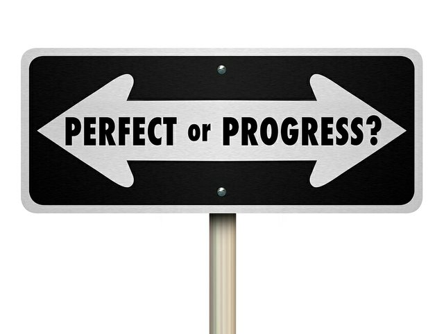 Perfect or progress