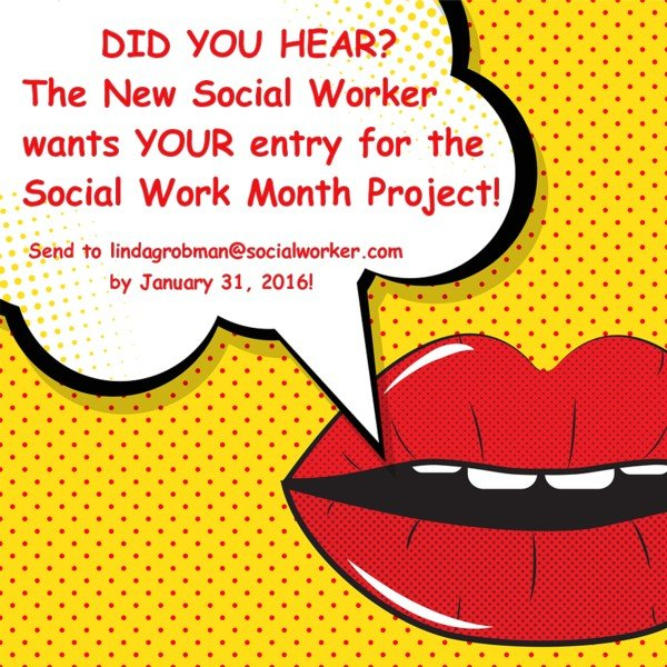 Social Work Month 2016