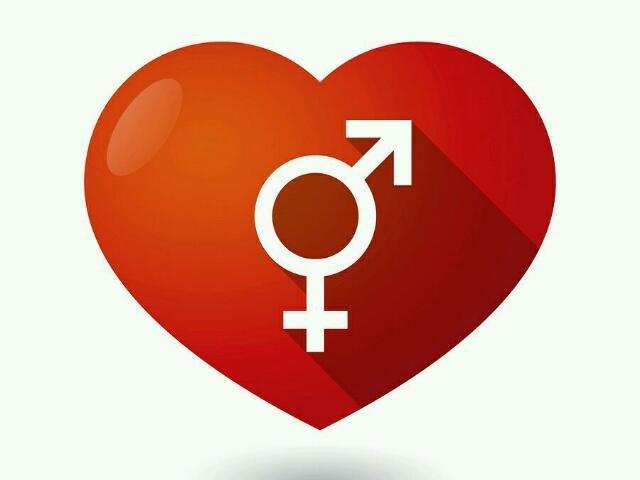 Transgender Symbol Heart