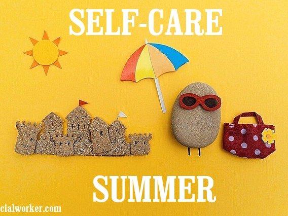 Self Care Summer on Beach