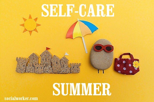 Self Care Summer on Beach